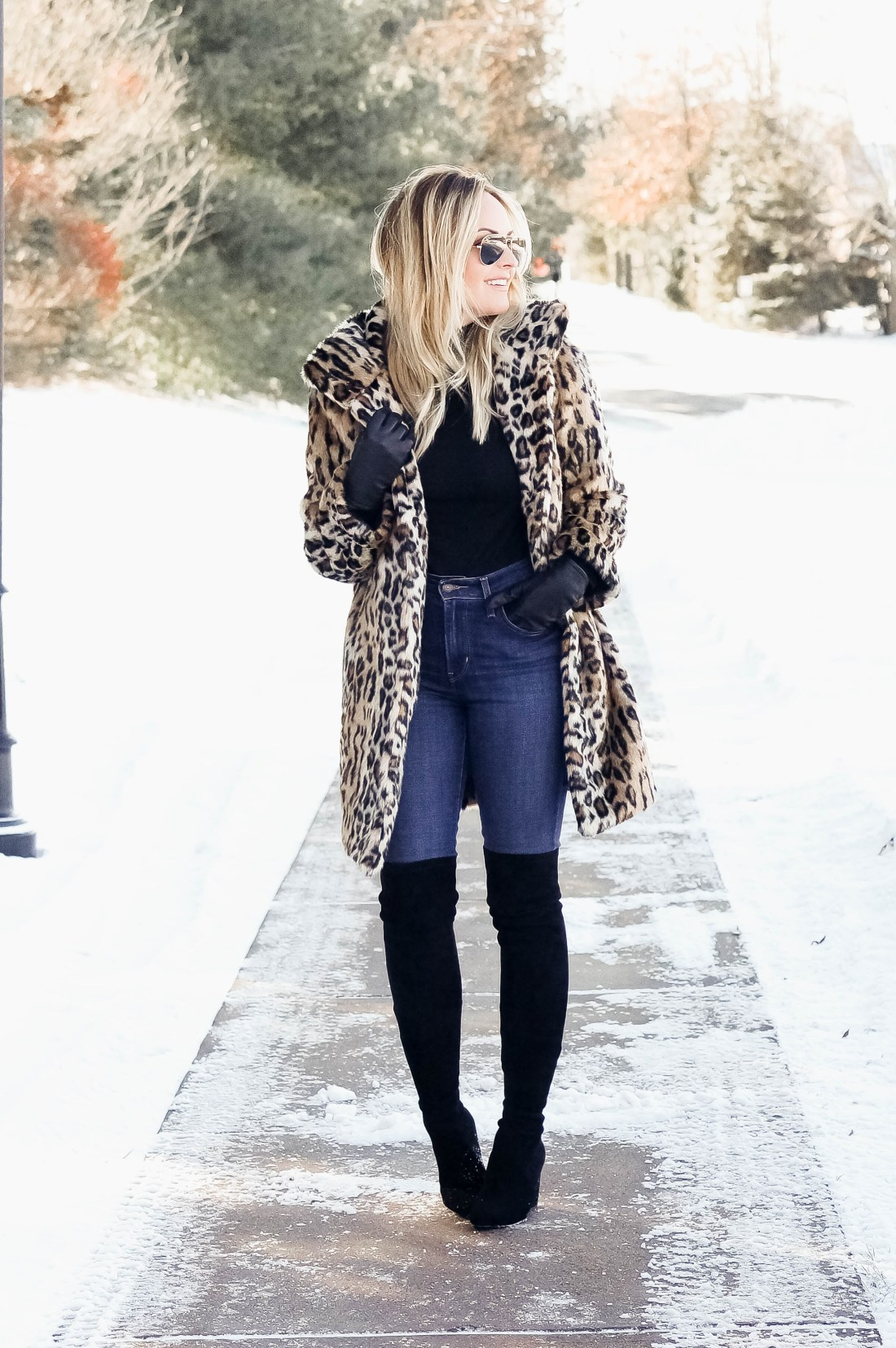 How To Style A Leopard Fur Coat