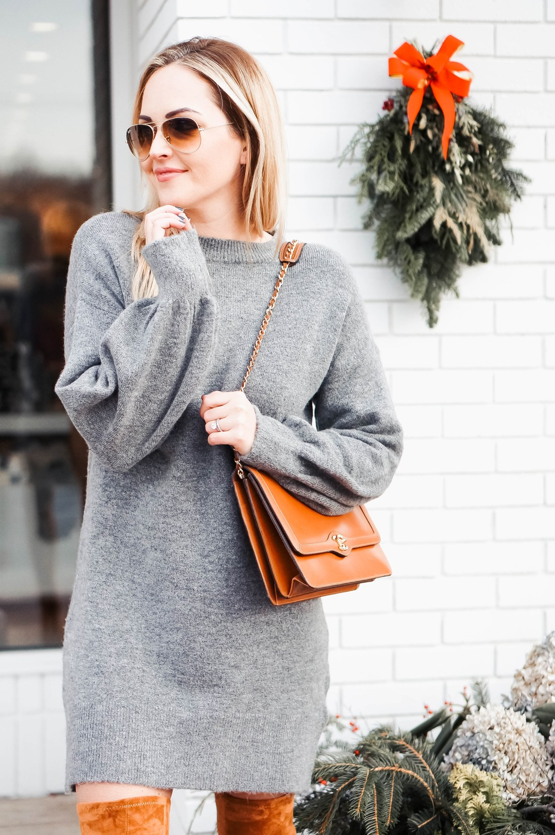 The perfect sweater dress
