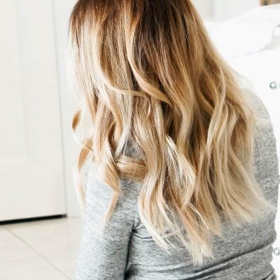 5 Minute Messy Waves Hair Tutorail