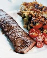 Grilled Skirt Steak with Rösti Potatoes