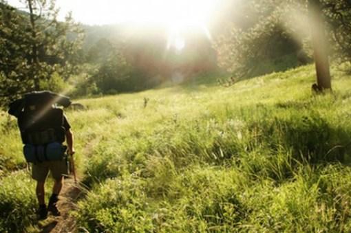 summer hiking