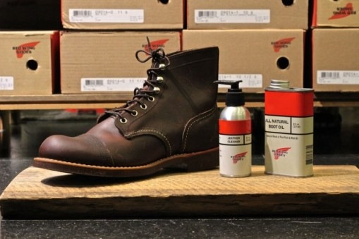 Clean your Red Wing Boots