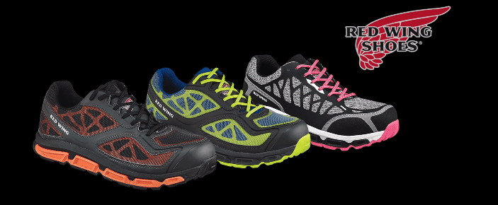 Athletic Shoes for the Workplace | Red