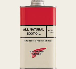 Red Wing Boot care oil