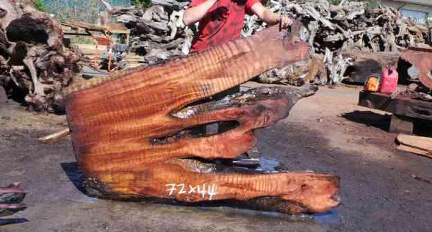 Redwood Headboard Slab - DIY Wood Bedroom Headboard