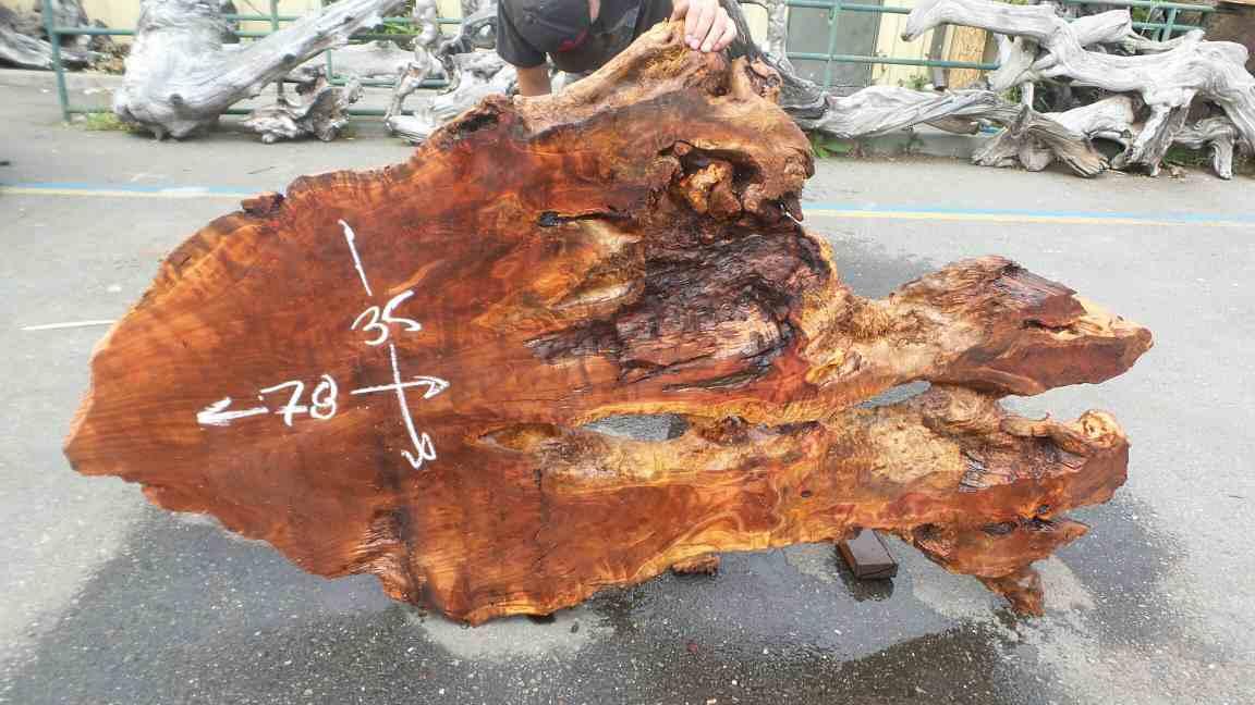 Figure Wood Headboard - Raw Woodsy Rustic Home Decoration