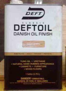 Deft Danish Oil Finish (Clear/Natural)