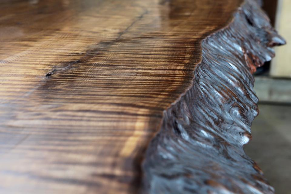 Curly Grain Rustic Kitchen Table