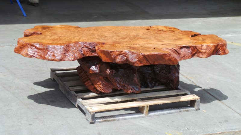 Live Edge Coffee Tables from Burl Wood