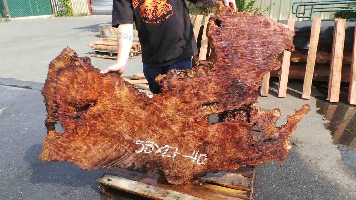 Redwood Raw Wood Wall Decor