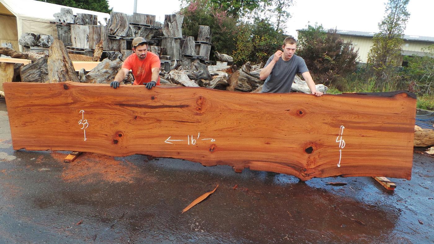 Rustic Kitchen Island Top Tree Trunk Countertops