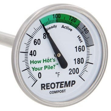 REOTEMP Backyard Compost Thermometer