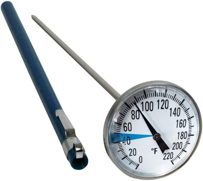Stainless Steel Soil Thermometer by Smart Choice redwormfarms.com