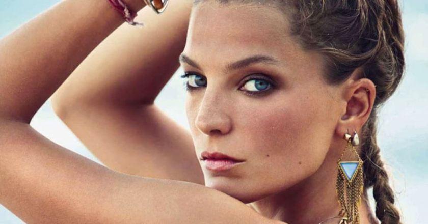 Daria Werbowy con Reebok Freestyle para Vogue Spain
