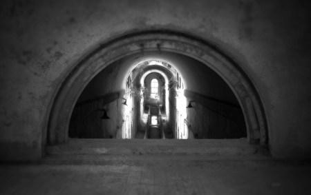 Corridor Thru Arch