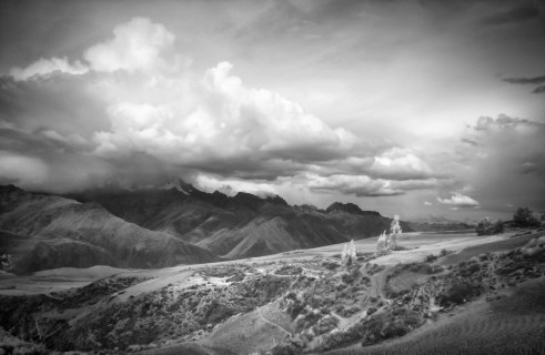 Storm over the Sacred Valley (Digital Infrared)