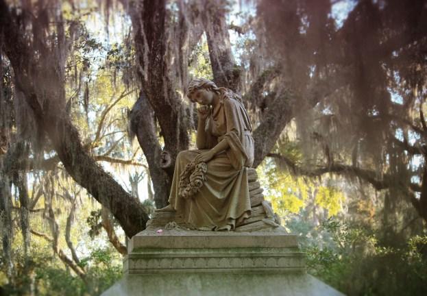 Bonaventure Grave Statue #2