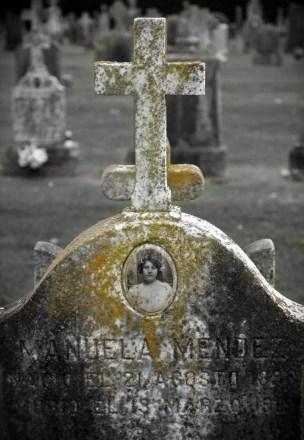 Tintype Headstone #10