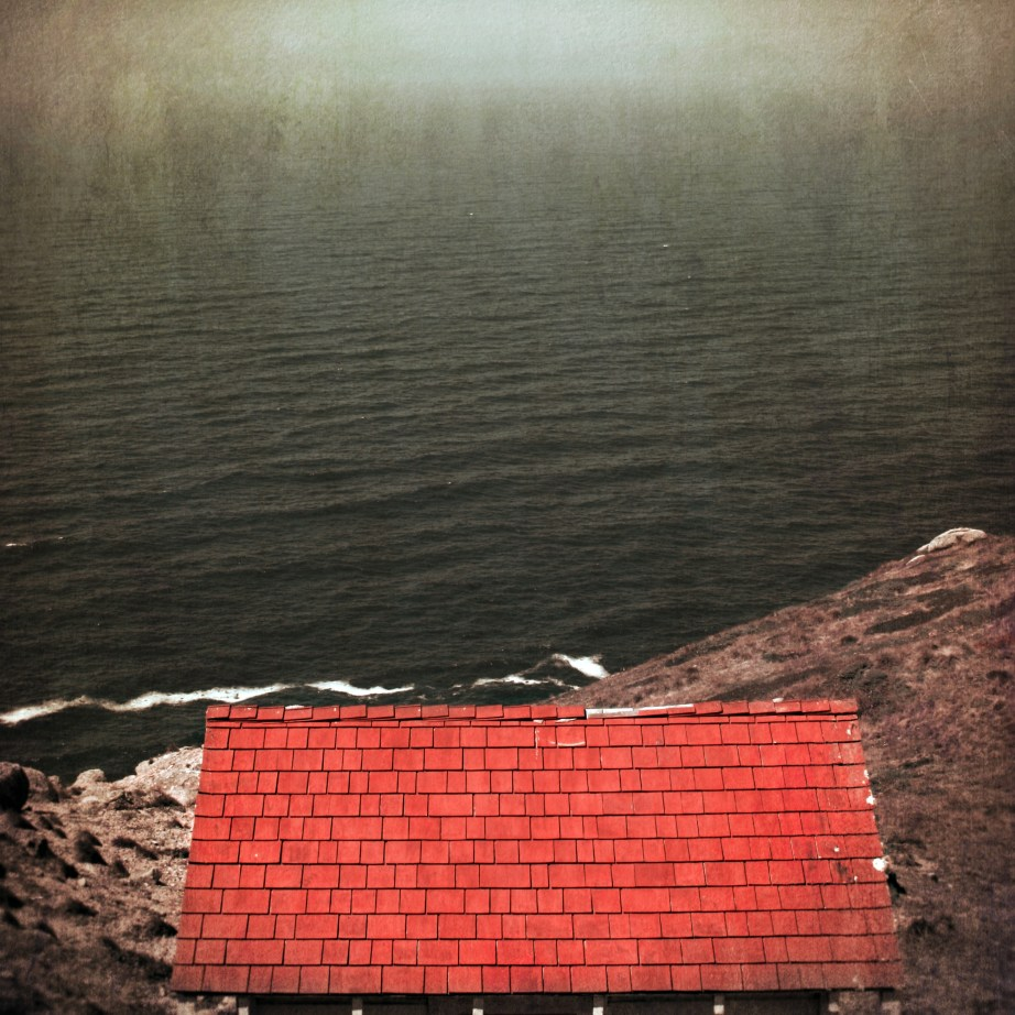 Red Roof by Point Reyes
