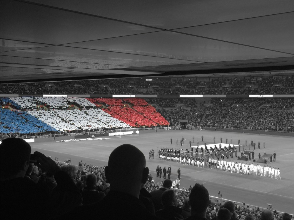 Wembley welcomes France and England friendly on a night where football was irrelevant (5/6)