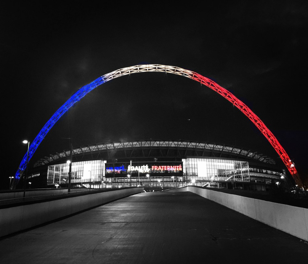 Wembley welcomes France and England friendly on a night where football was irrelevant (2/6)