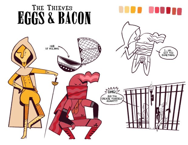 Rogue Eggs and Thief Bacon