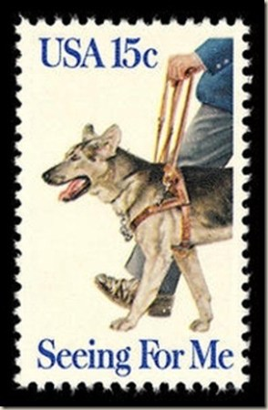 Buudy, the first seeing eye dog in America. (credit: http://pdxretro.com/2012/04/seeing-eye-dog-first-used-on-this-day-in-1928/)