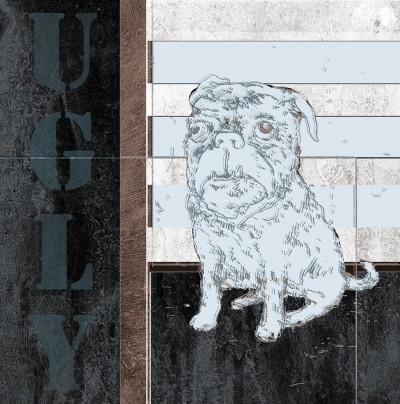 There are many famous dogs with beauty, bravery and loyalty throughout history and literature. And then in VALENTINO PIER...well...then there's Ugly. (Illustration by Dylan Coleman)