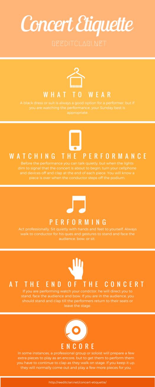 Performance, performance, concert, concert etiquette, etiquette, audience, performer