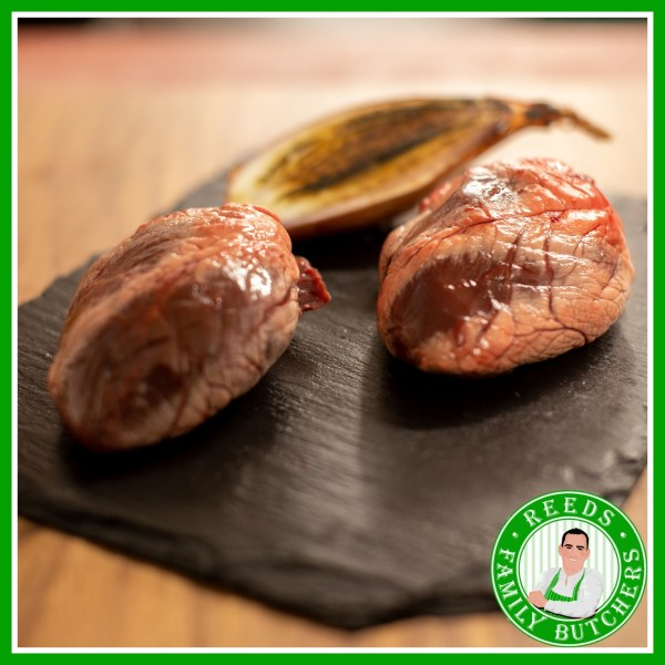 Buy Lambs Heart x 4 online from Reeds Family Butchers
