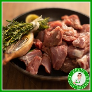 Buy Diced Lamb x 500g online from Reeds Family Butchers