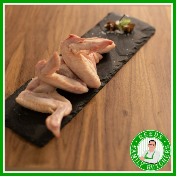 Buy Jumbo Chicken Wings x 6 online from Reeds Family Butchers