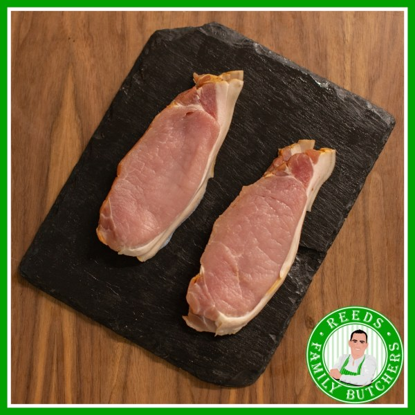 Buy Dry Cured Bacon Rind On - 8 Rashers online from Reeds Family Butchers