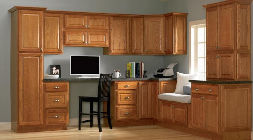 Oak Cabinet Inspirations Reeds Custom Cabinets