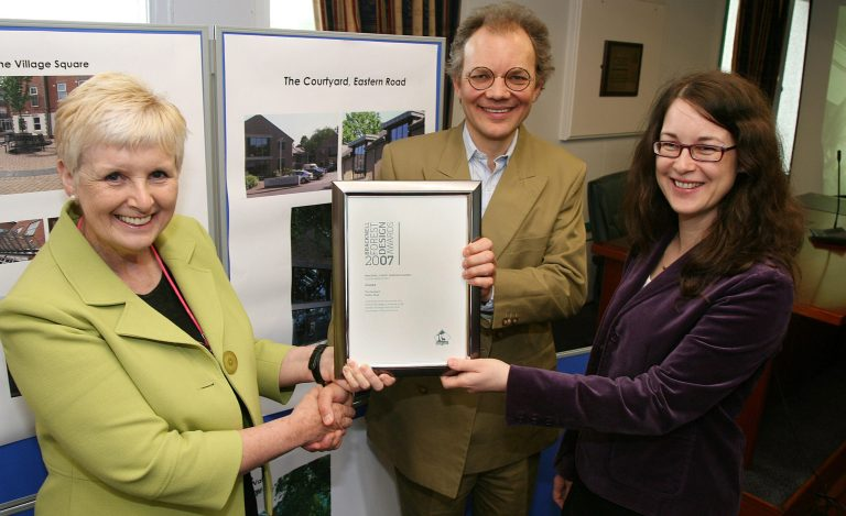 The Courtyard winning the Sustainability Design Award