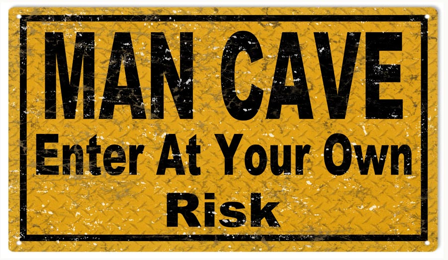 Man Cave Yard Sale Facebook : Man cave garage art enter sign reproduction vintage signs