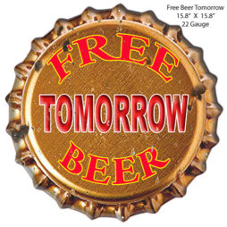 """TIN SIGN /""""JB Dickey/""""  Beverages Mancave Wall Decor"""
