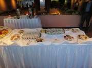 Desserts at the Reception