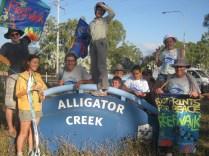 reefwalk2013: We reach Alligator Creek 30 Jule 2013