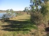 Vince and Rita's cane farm lagoon