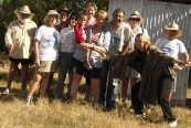 Reefwalk 2013: Group photo after walk to Abbot Point