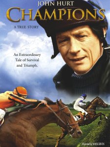 Image shows theatrical poster of the horse movie Champions