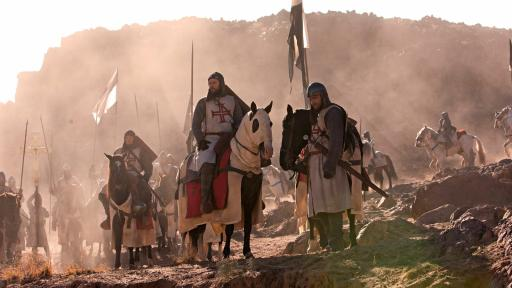 Photo of a scene in The Holy Land from Arn: The Knight Templar
