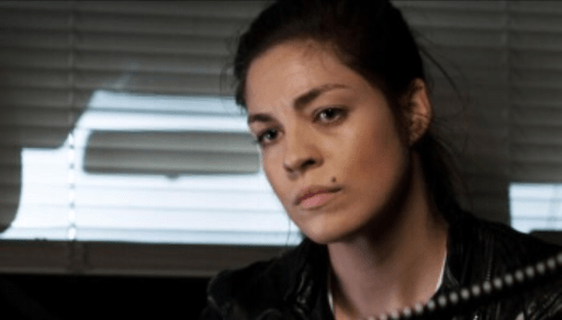Natalie Madueño as Louise Bergstein in Blinded: Those Who Kill
