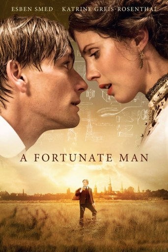 The English-language theatrical poster for A Fortunate Man