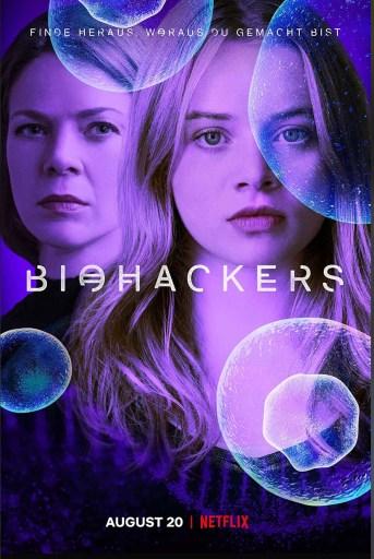 Theatrical poster of season 1 Biohackers (German version)