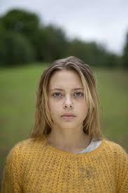 Elli Rhiannon Müller as Emilie In a promo still for Utøya - July 22