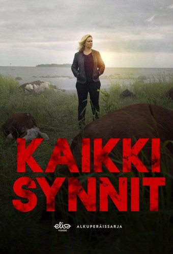 The Finnish theatrical poster for the show All the Sins