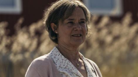 Pernilla August as Britt-Marie in Britt-Marie Was Here