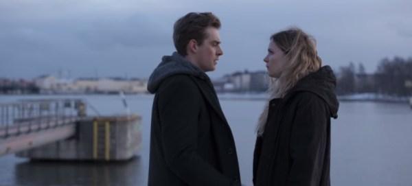 Pihla Viitala (Sofia Karrpi) and Lauri Tiikanen (Sakari Nurmi) in Deadwind Season 2